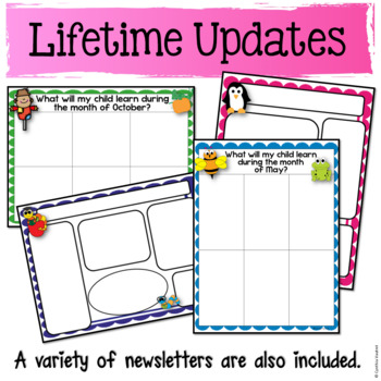 Editable Calendars and Newsletters {Scrappy}