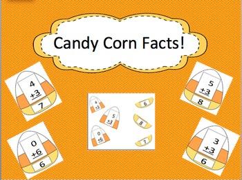 Editable Candy Corn Facts (Halloween Center Activity)