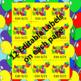 Editable Caramel Apple Pop Birthday Labels