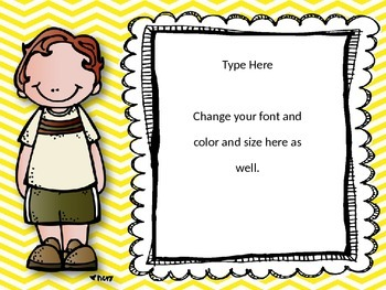 Editable Cards and Posters For Everyday Use {Possibilities are Endless}
