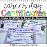 Career Day Certificates (editable)