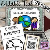 Editable Career Passport Bundle with Soft Skills Rotations