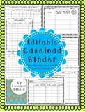 Editable Caseload Binder for Special Educators