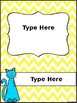 Editable Cat Binder Covers