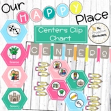 Editable Center Sign Up Cart   Clip Chart   Our Happy Plac