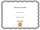 Editable Certificate/Award