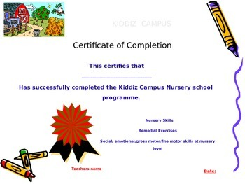 Editable Certificates