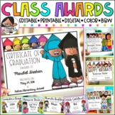 Editable End of the Year Awards | + Google Slides | Spanis