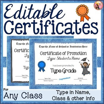 free printable certificates of achievement teaching resources