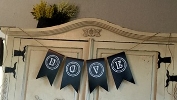 Editable Chalkboard Flag Banners for Classroom, Birthdays, & More!
