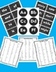 Editable Chalkboard Fry Word Wall and Sight Word Super Pack