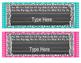 Editable Chalkboard & Polka Dot Name Tags