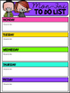 Editable Checklist Freebie