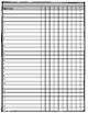 Editable Checklist and Gradebook