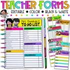 Editable Teacher Checklists {Melonheadz Edition}