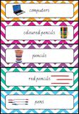 Editable Chevron Labels