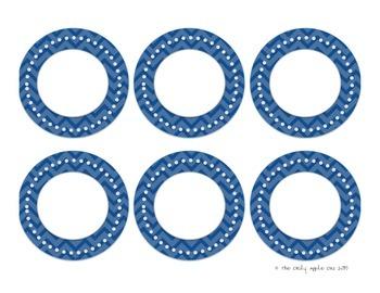 Editable Chevron Circles