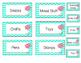 Editable Chevron Flower Teacher Tool Box Set
