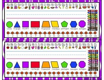 Kindergarten Editable Name Tags By Kerry Antilla Tpt