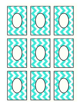 Editable Chevron Labels: Multicolor