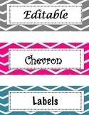 Editable Labels: Chevron