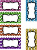 Editable Chevron Labels and Frames