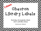 Editable Chevron Library Labels