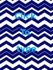 Editable Chevron Multipurpose Backgrounds (binders, posters, etc.)