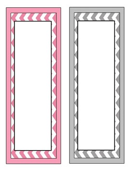 Editable Chevron Tags