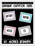 Editable Chevron Tags