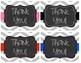 Editable Chevron Teacher Note Cards - plus BONUS Thank you Cards