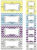 Chevron Teacher Toolbox and Drawer Labels {Editable}