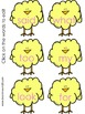 Editable Chick FREEBIE {for Sight Word Shell Game etc.}