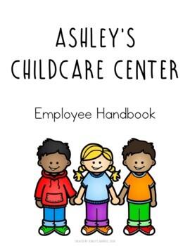Editable Childcare Employee Handbook