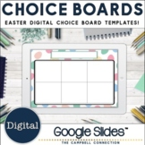 Editable Choice Board Template   Digital   Easter