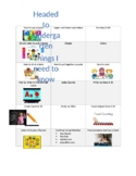 Editable Choice Board to Prevent the Summer Slide
