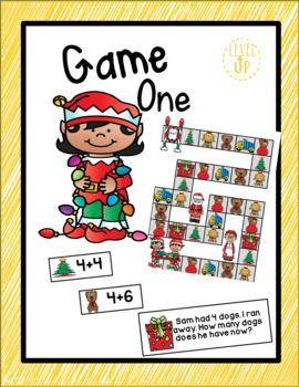 Editable Christmas Game Boards