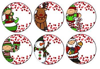 Editable Christmas Gift Tags - BLANK VERSION