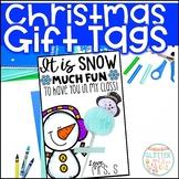 Editable Christmas Gift Tags-Freebie!