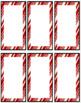 Editable Christmas Holiday Bookmarks