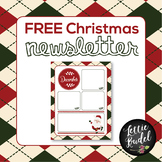 Editable Christmas Newsletter