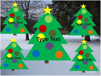 Editable Christmas Labels.Editable Christmas Tree Labels For Your Classroom And Home