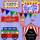 Editable Circus Clip Art - 20 Pieces