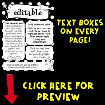 Editable Circus Newsletters