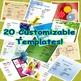 Editable Class Agenda Powerpoint Slides FOUR SEASONS BUNDLE