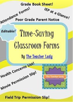 Editable Class Forms