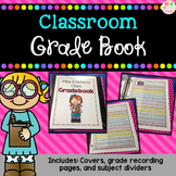 *Editable* Class Grade Book