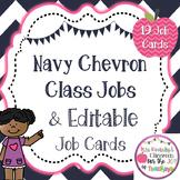 Editable Class Job Cards- Chevron