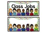 Editable Class Jobs Bright Set