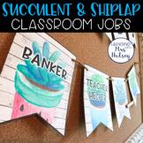 Editable Class Jobs Display (Succulent and Shiplap)